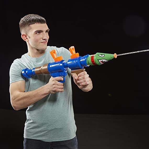 Nerf Fortnite RL Bazuca Lançador de Água Super Soaker - Hasbro