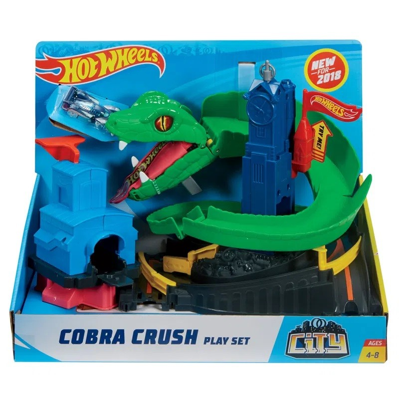 Pista Hot Wheels Ataque de Cobra - Mattel