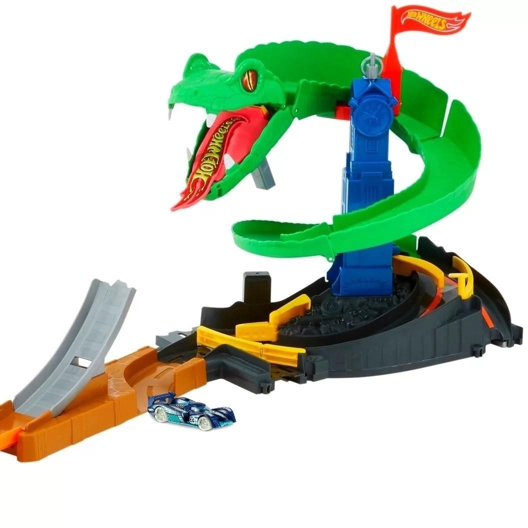 Pista Hot Wheels Ataque de Cobra - Mattel