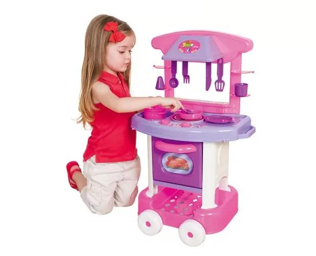 Play time Cozinha Rosa - Cotiplás
