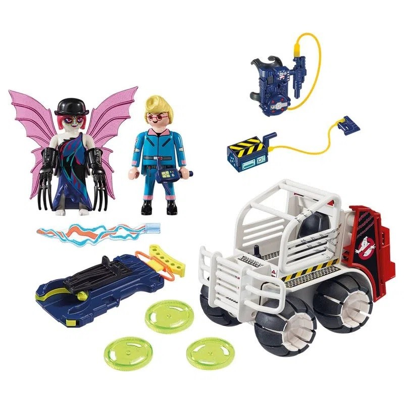 Playmobil 38 Peças The Real Ghostbusters Spengler - Sunny 9386