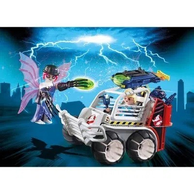 Playmobil 38 Peças The Real Ghostbusters Spengler - Sunny 9386