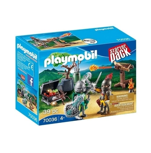 Playmobil Kit Inicial Batalha do Cavalheiro 70036 - Sunny