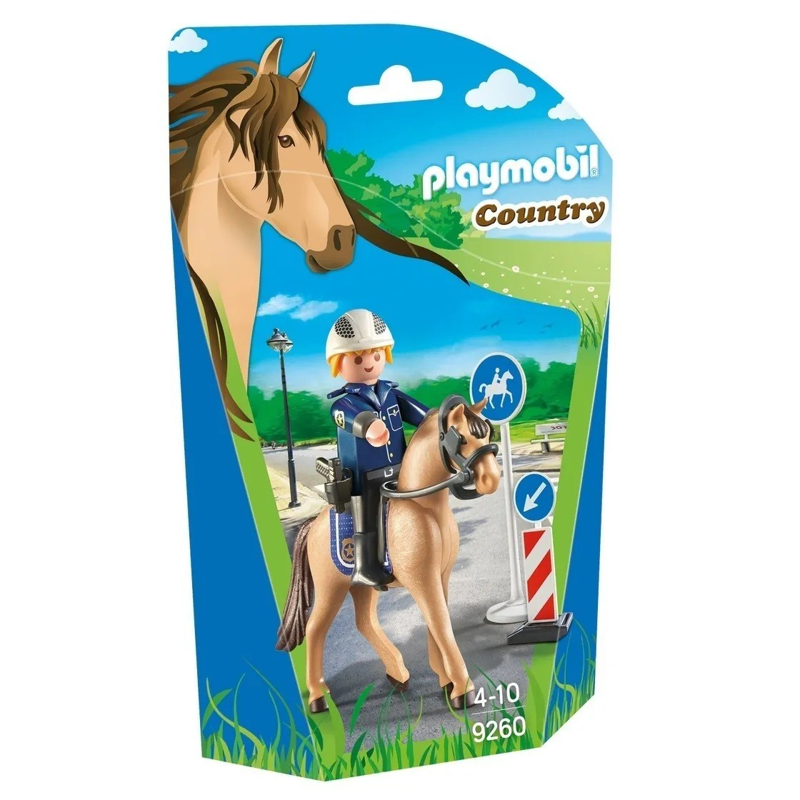 Playmobil Soft Bags Country Cavalo Bege 9260 - Sunny