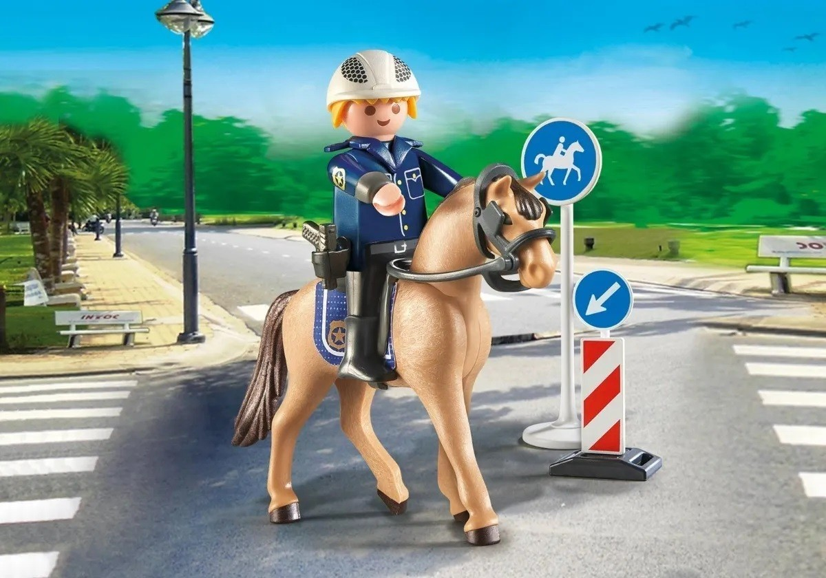 Playmobil Soft Bags Country Cavalo Bege 9259 - Sunny