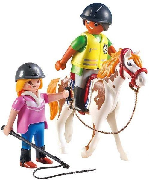 Playmobil Soft Bags Country Cavalo Branco com Marrom 9258 - Sunny