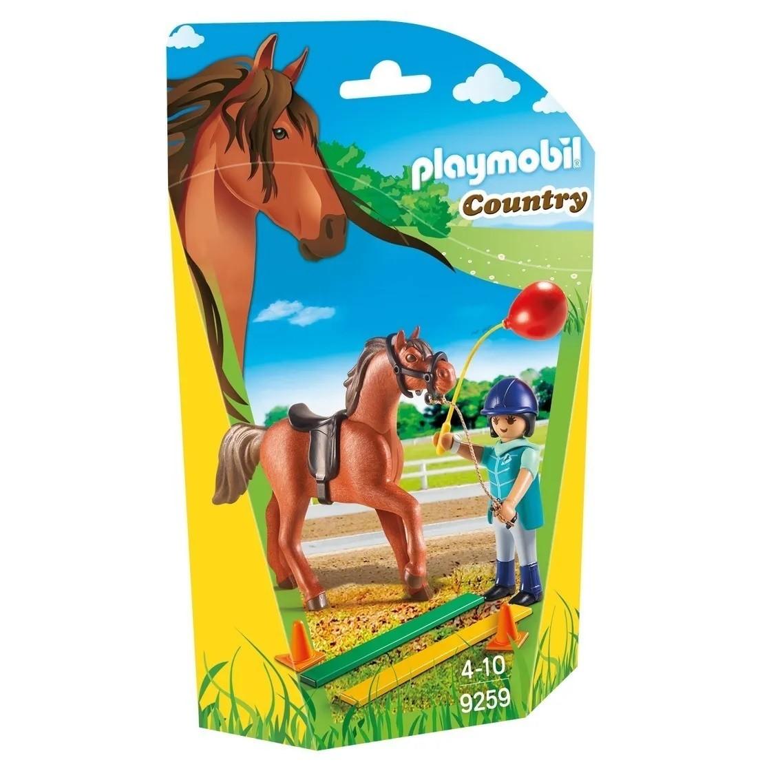 Playmobil Soft Bags Country Cavalo Marrom 9259 - Sunny