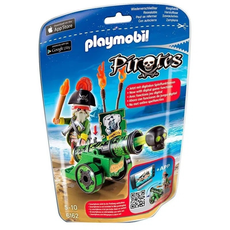 Playmobil Soft Bags Pirata com Canhão 6162 - Sunny