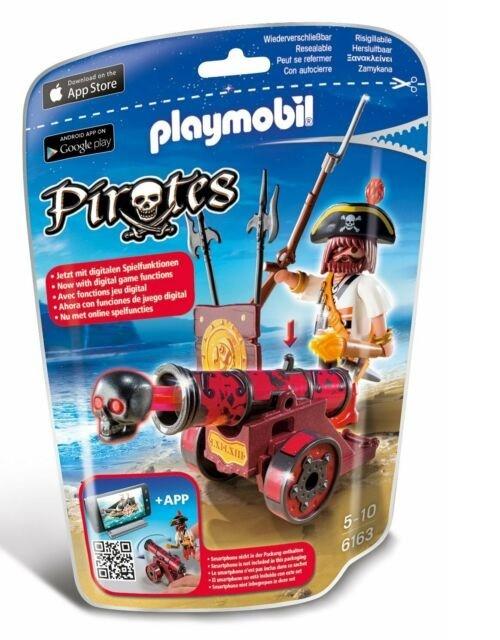 Playmobil Soft Bags Pirata com Canhão 6163 - Sunny