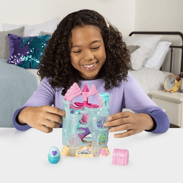 Playset Cenário Castelo de Coral Hatchimals Colleggtibles 2019 - Sunny