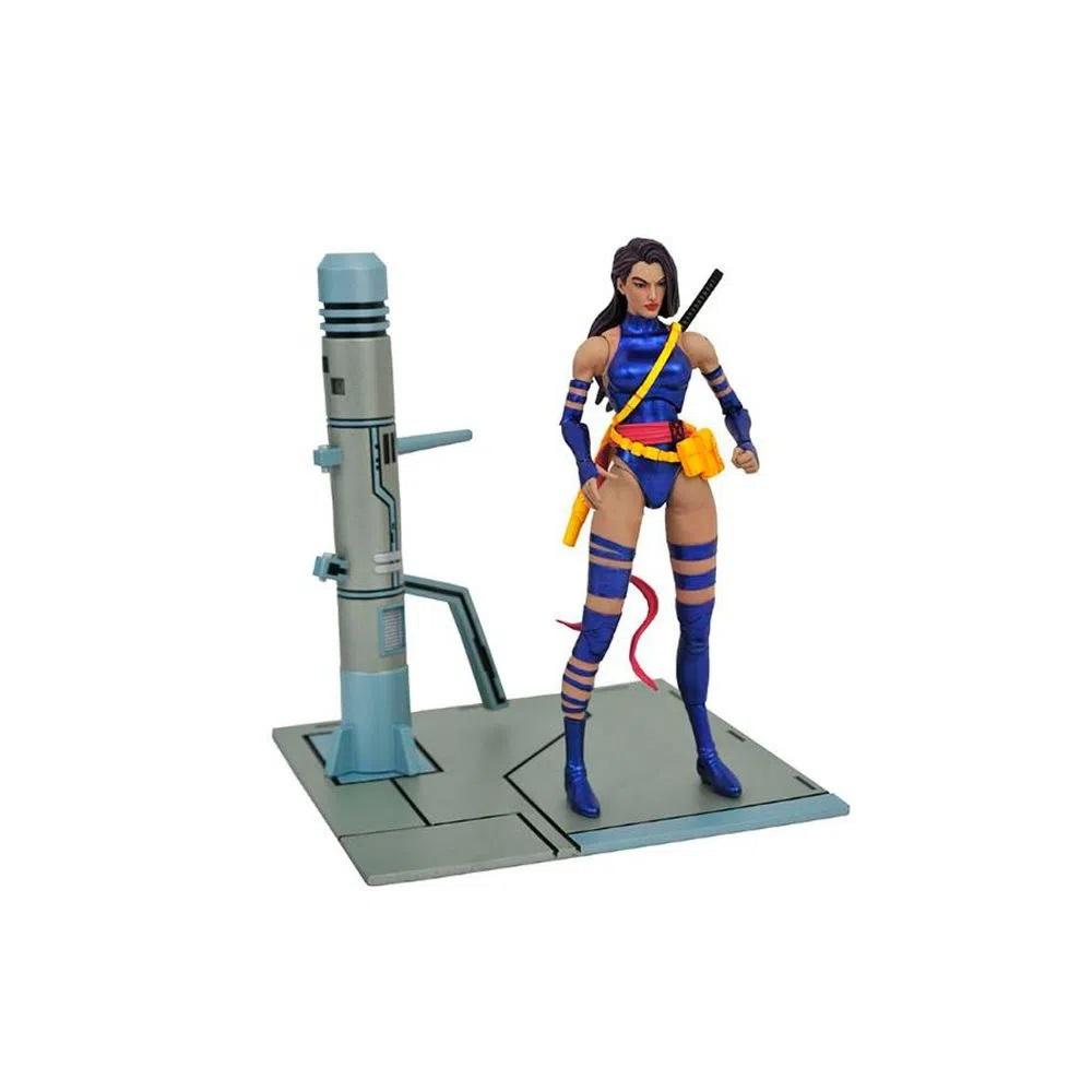 Psylocke Marvel Select Action Figure Diamond Select Toys