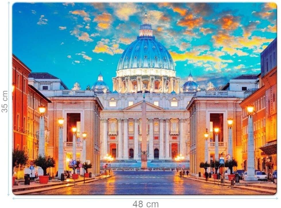 Quebra-Cabeça Basílica de São Pedro 500 Peças - Game Office