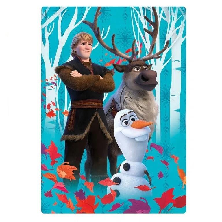 Quebra-Cabeça Disney Frozen 2 Sven e Olaf 60 Peças - Jak