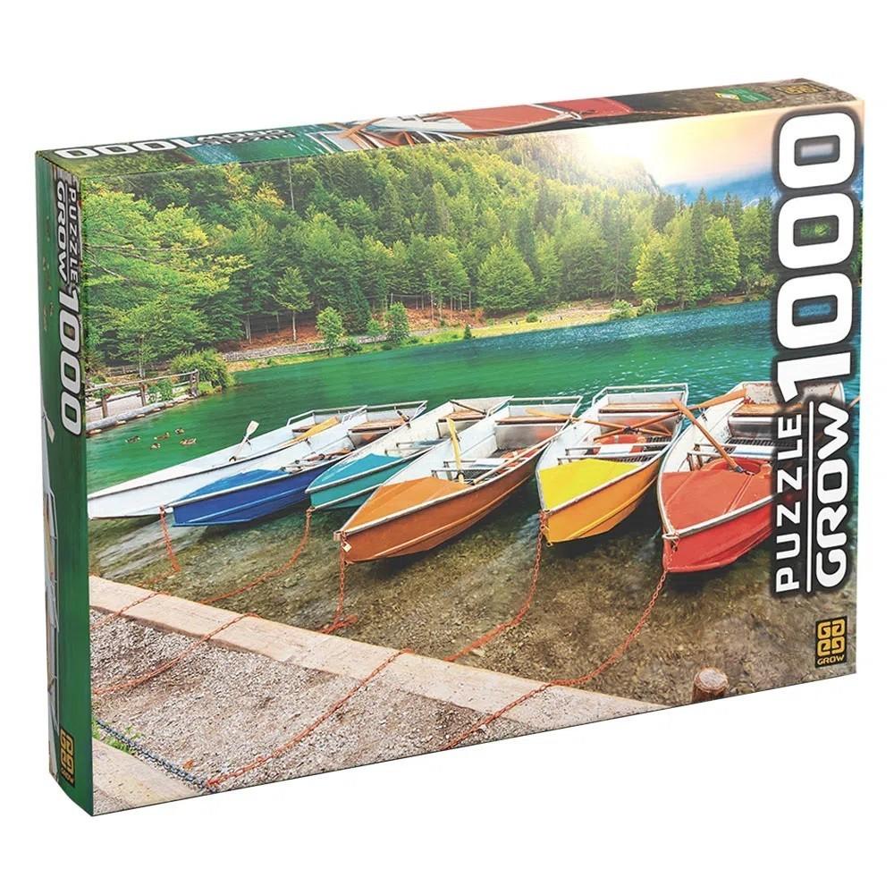 Quebra-Cabeça Lago de Fusine 1000 Peças - Grow
