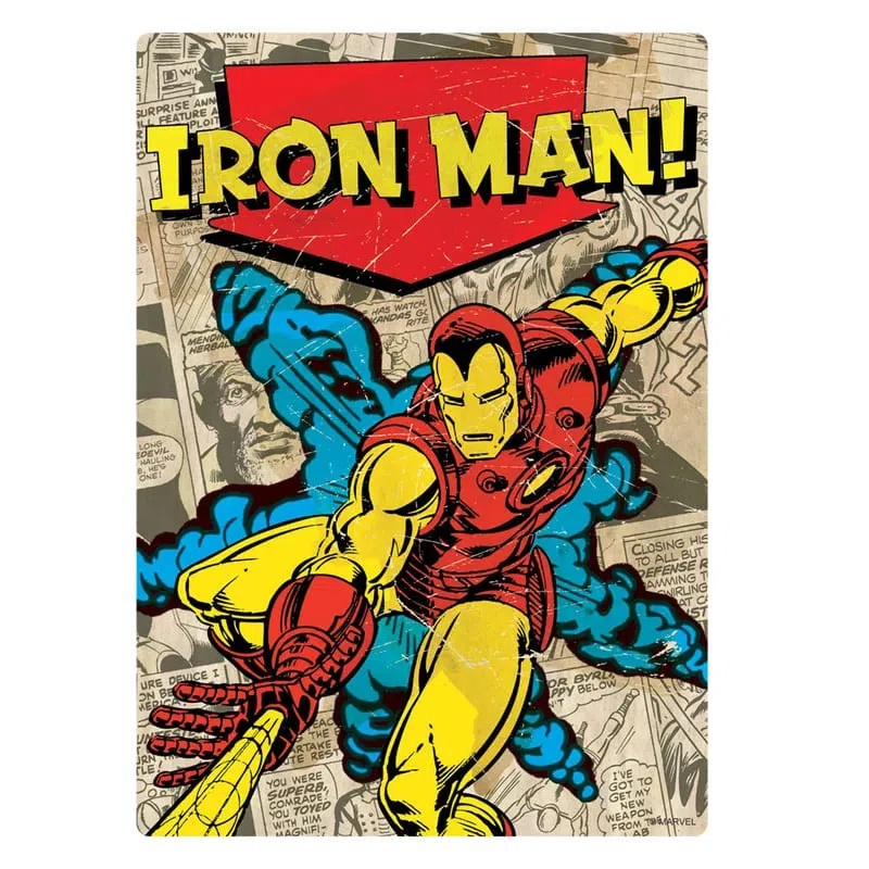 Quebra-Cabeça Nano Marvel Comics Iron Man 500pcs Game Office