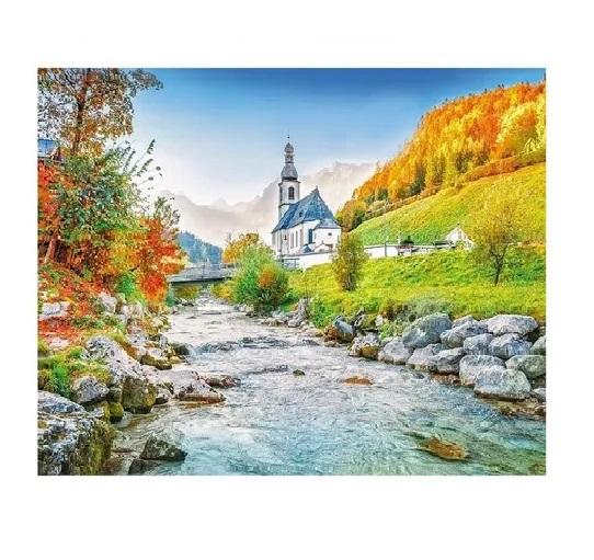 Quebra-Cabeça Riacho nos Alpes 500 Peças - Grow