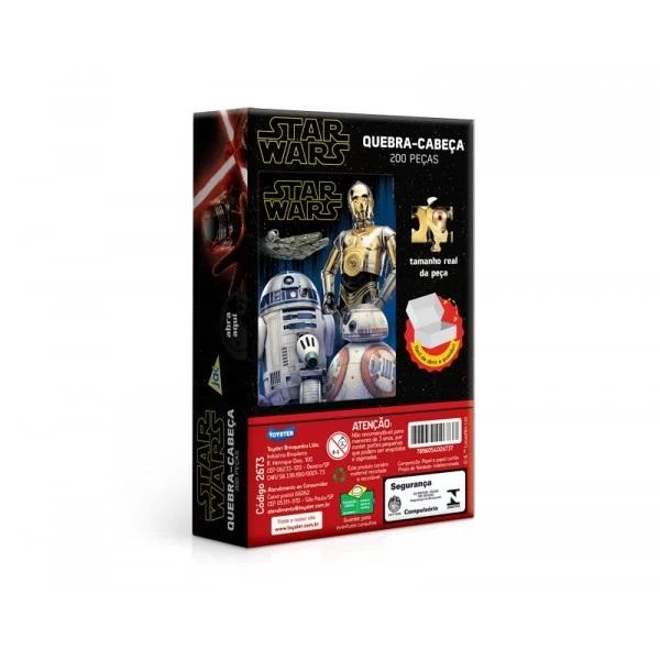 Quebra-Cabeça Star Wars 200Peças - Jak