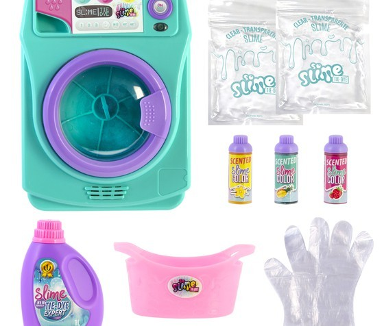 Maquina de Lavar Slime Machine Tye-Dye - Fun Brinquedos