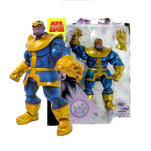 Thanos e Morte Marvel Select Diamond Action Figure
