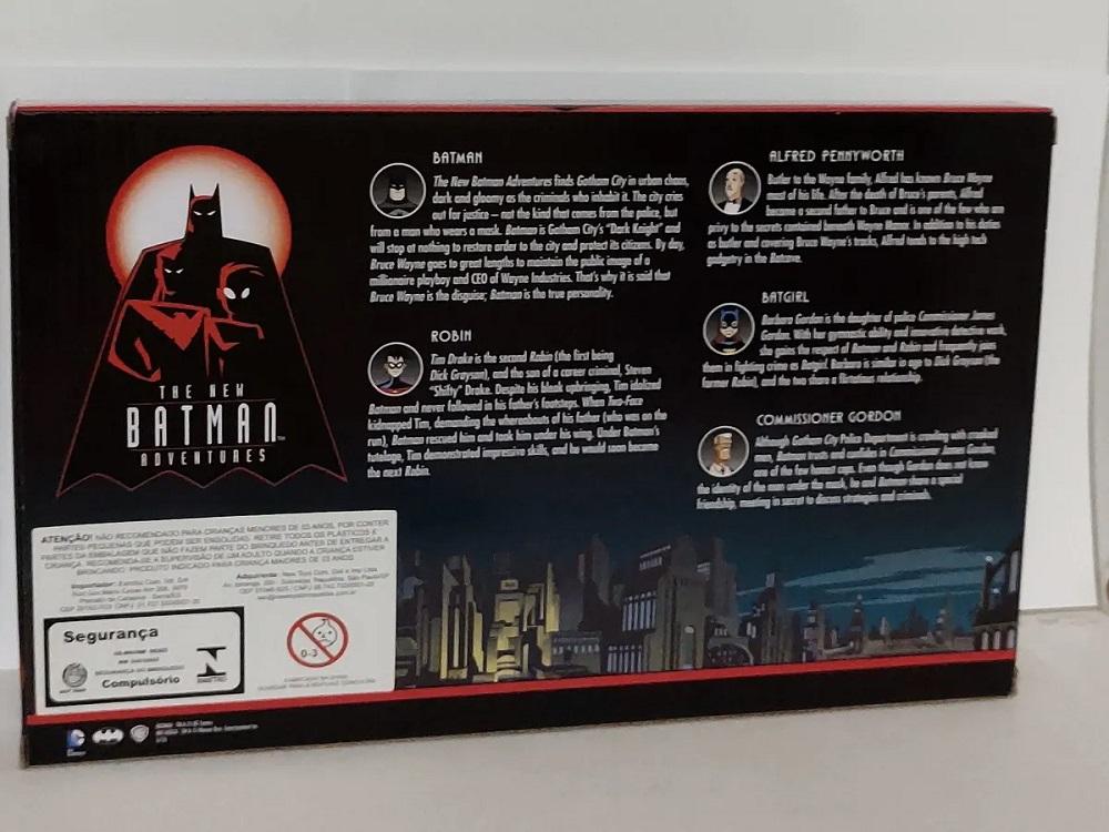 The New Batman Adventures Bendable Figures Heroes Set DC3940