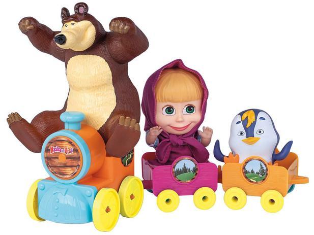 Trenzinho da Masha - Masha e o Urso Cotiplás
