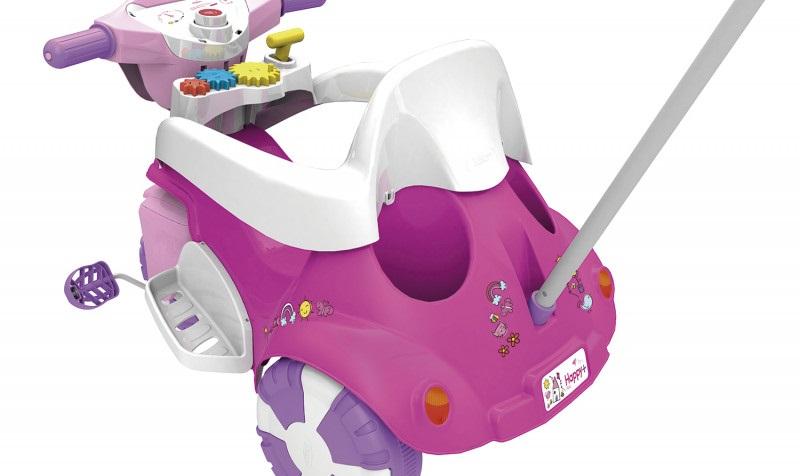 Triciclo Tico-tico Happy+ Rosa 0724.5 - Xalingo