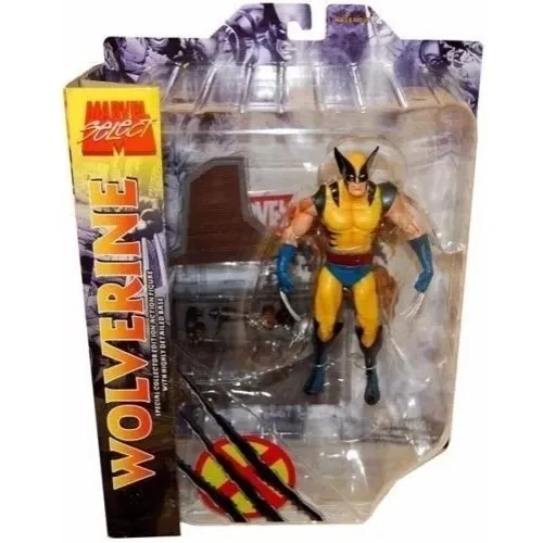 Wolverine Marvel Select Diamond Action Figure