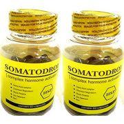 Somatodrol = Soma Pro 120 Cápsulas 2 Potes Ativador + Testosterona Hgh
