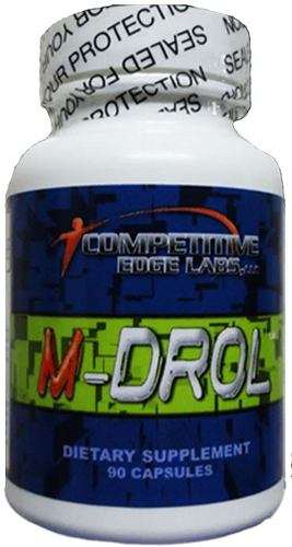 M Drol Competitive Edge Lab 90 Cáps Menor $ Mercado Envios