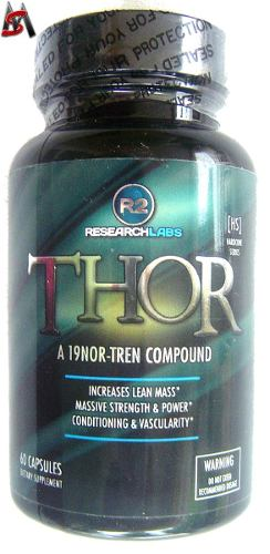 Thor R2 Research 60 Cáps 100% Original Pronta Entrega!