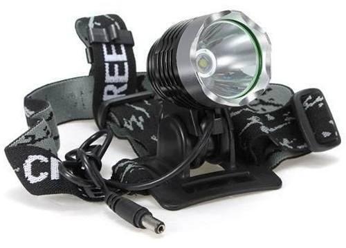 Lanterna Cabeça Recarregável  Ciclismo, Caça, Pesca, Oficina  - ACTIONLTDA