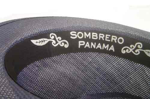 Chapéu Fedora Panamá Preto Unissex  - ACTIONLTDA