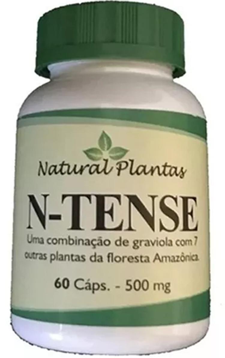 N - Tense Graviola 60 Cápsulas Raintree Fórmula