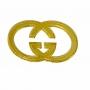 Aplique de Acrilico Dourado Grife