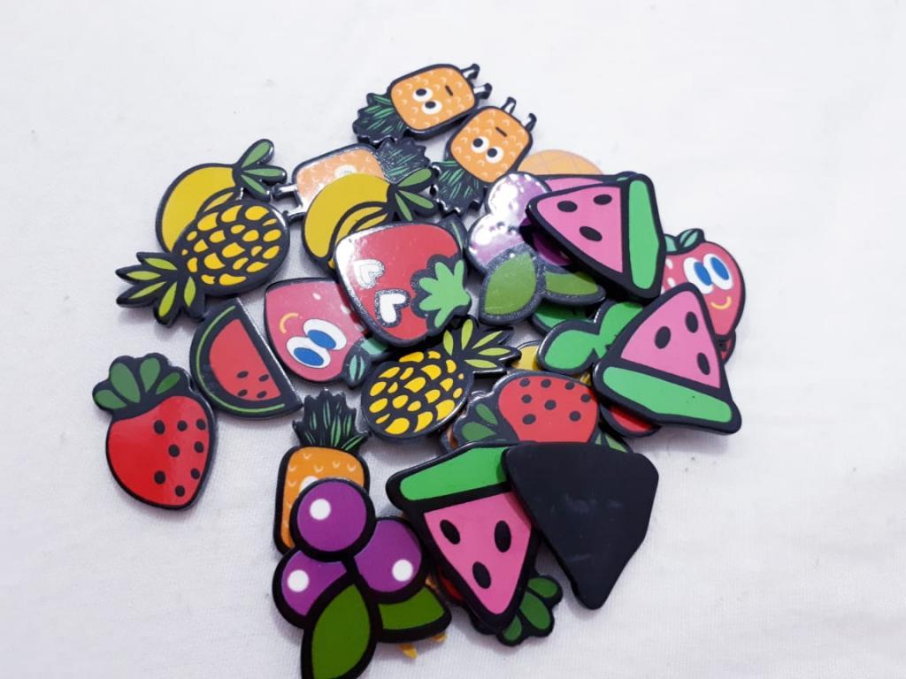 Aplique de Resina Frutinhas