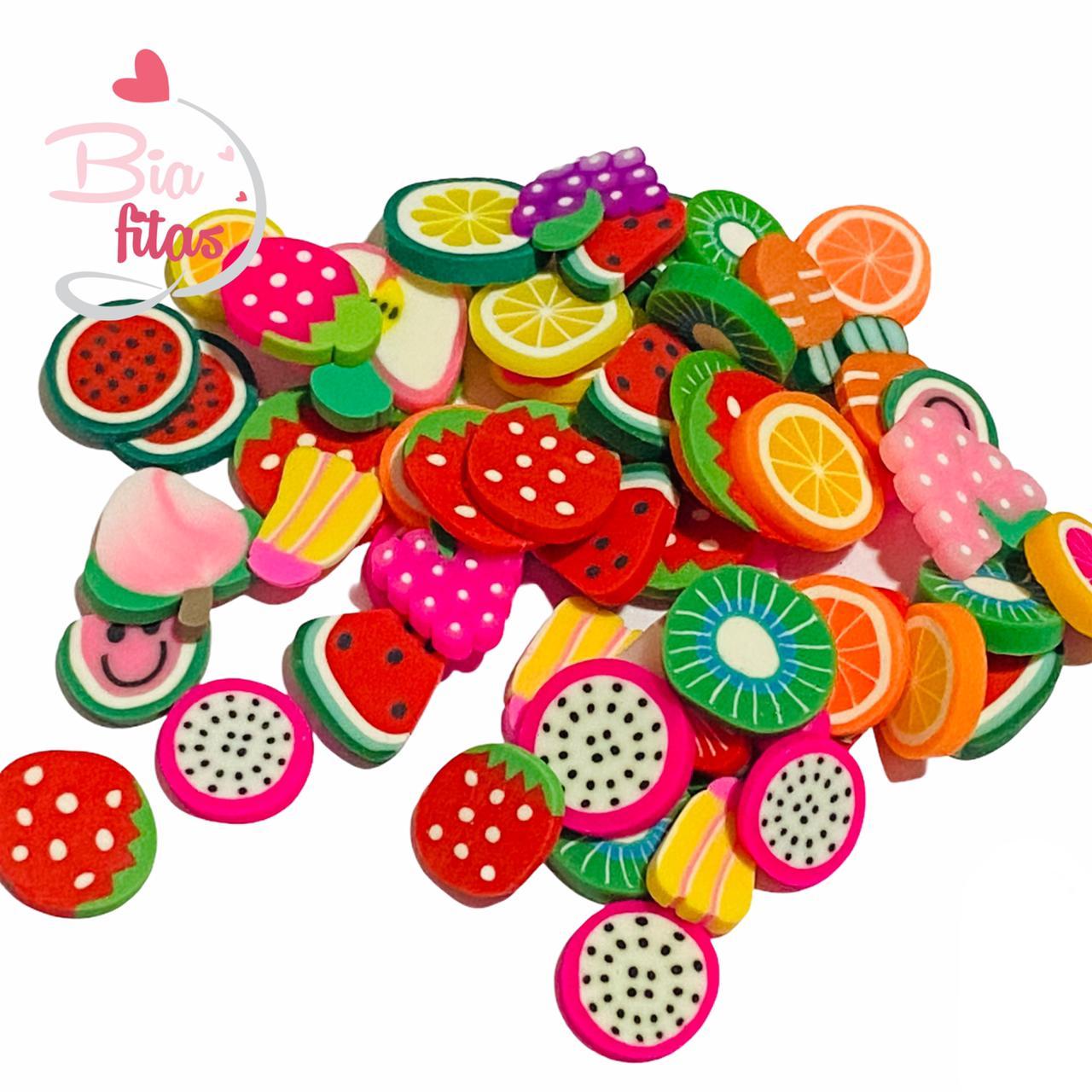 Aplique mini Mix Frutinhas 10g