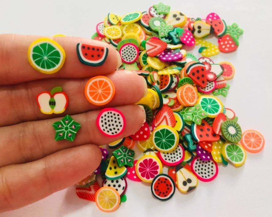 Aplique mini Mix Frutinhas (com 10 unidades)