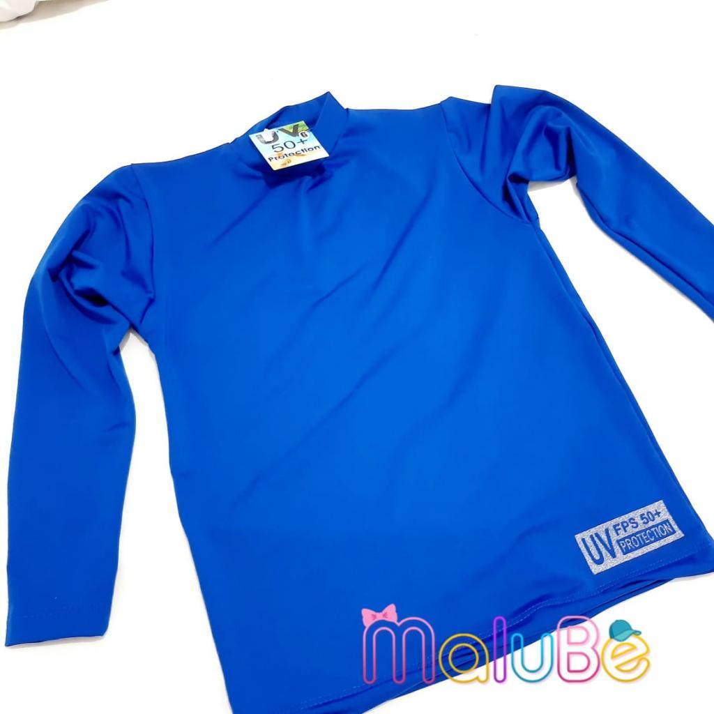 Blusa UV 50+ Azul