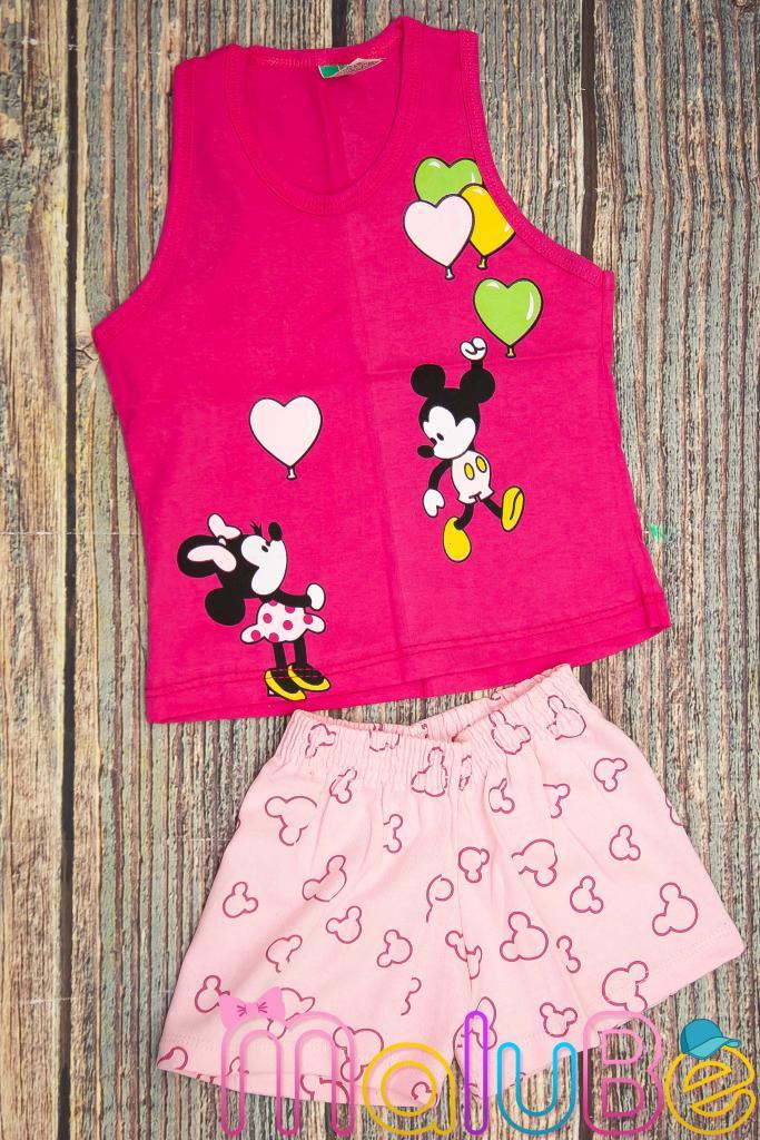 Conjunto Regata Minie e Mickey P