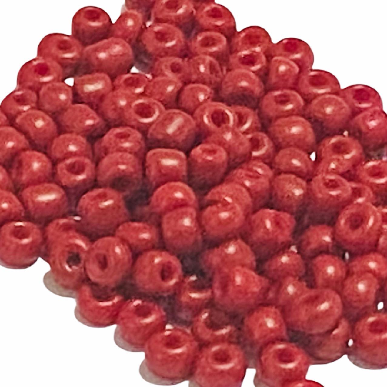 Miçangangão Vidro Vermelho (10g)