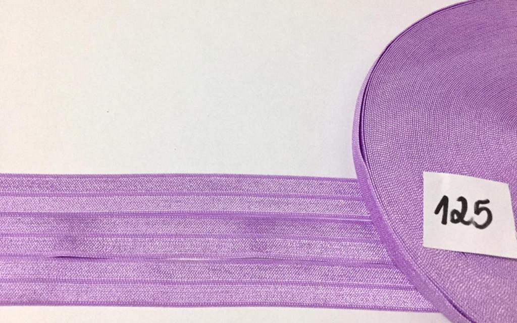 Elastico de Viés Sanding Lilás 125