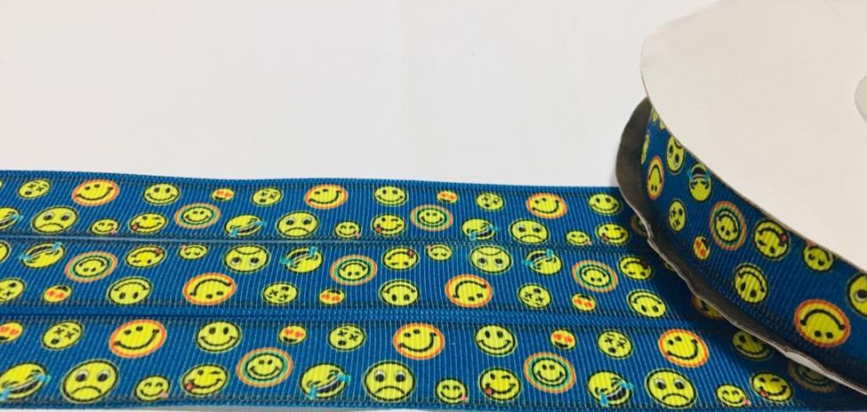 Fita de Gorgorão Emoji 22 - 2metros