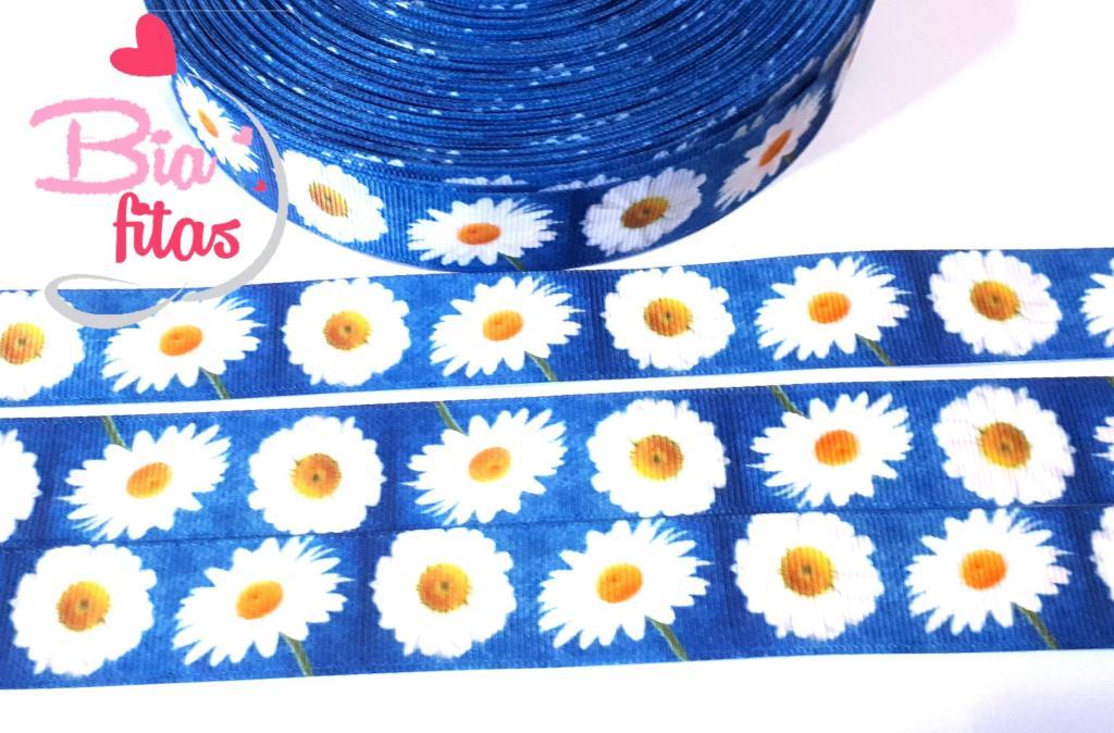 Fita de Gorgorão Floral 22 - 2 metros