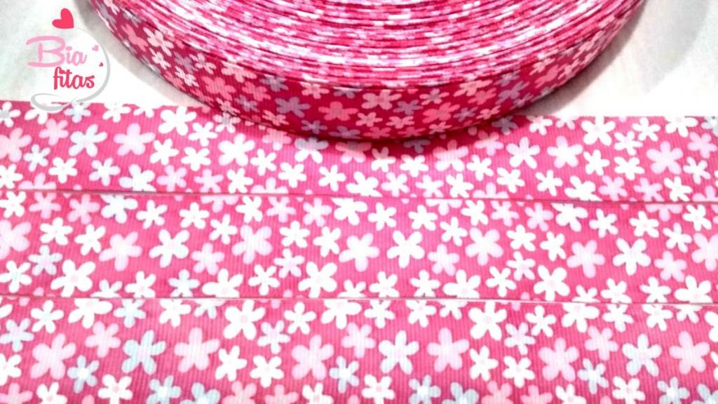 Fita de Gorgorão Floral 25 - 2 metros