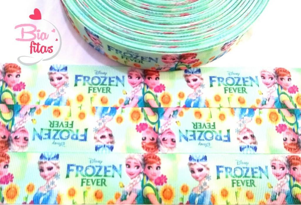 Fita de Gorgorão Frozen Fever 25 - 2 metros