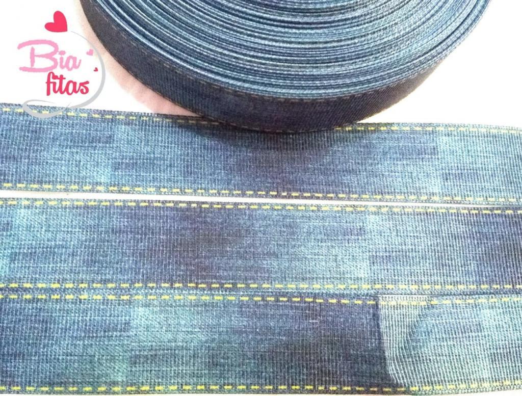 Fita de Gorgorão Jeans 25