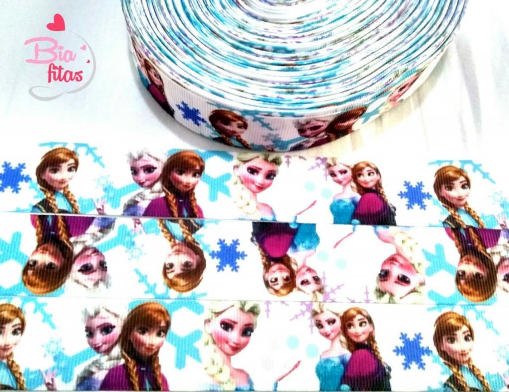 Fita de Gorgorão Princesas Frozen 25