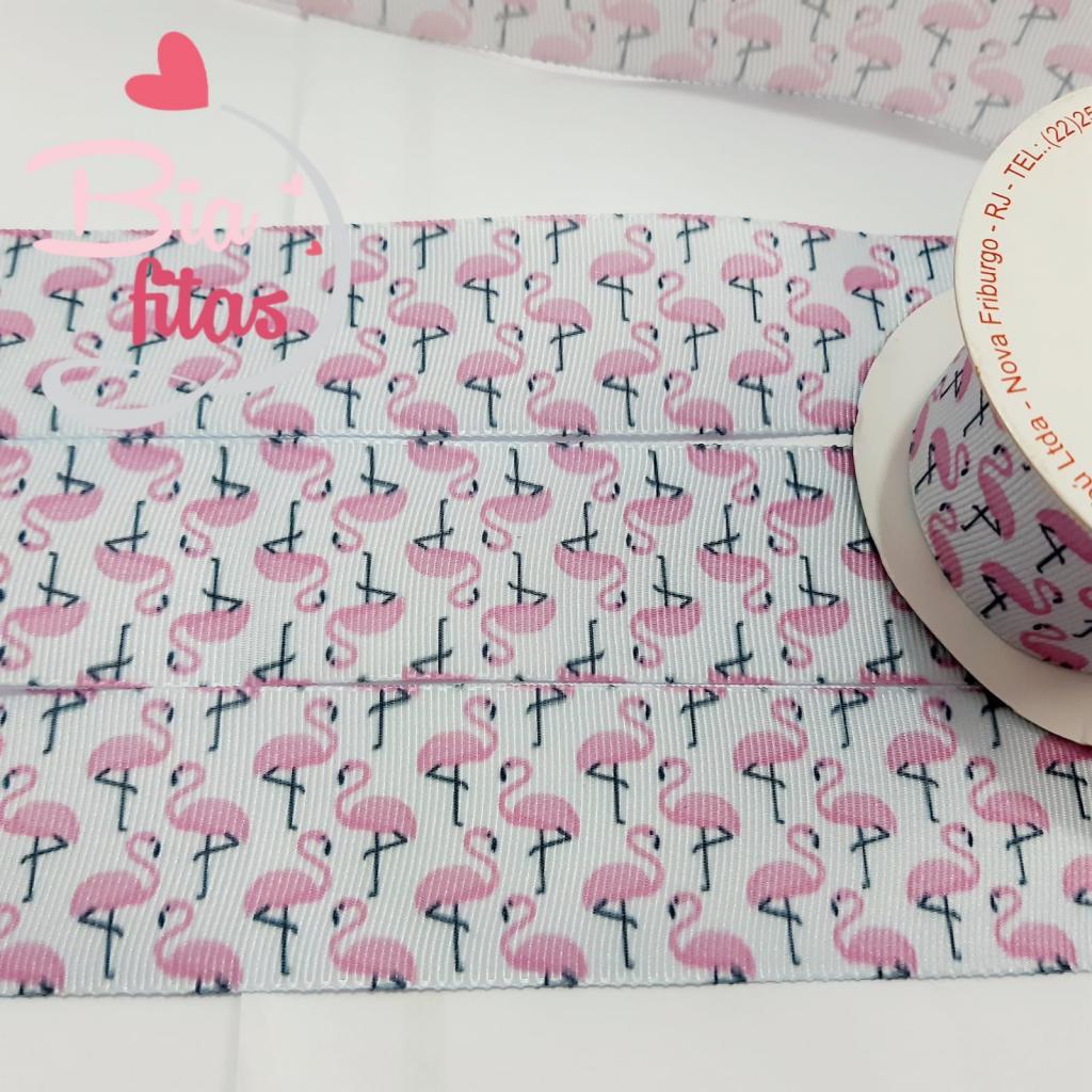 Fita de Gorgorão Sinimbú Flamingos 38 - 28