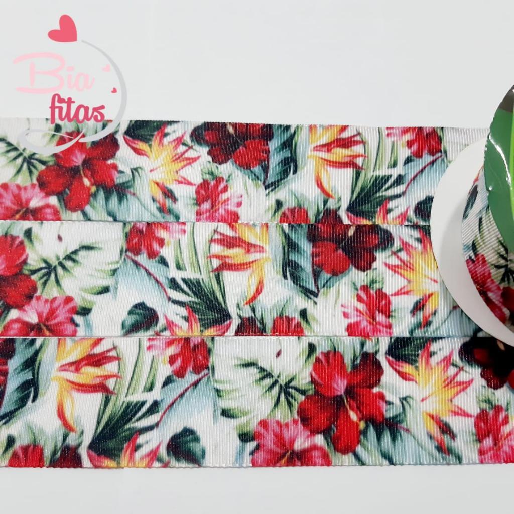 Fita de Gorgorão Sinimbú Floral 38 - 140