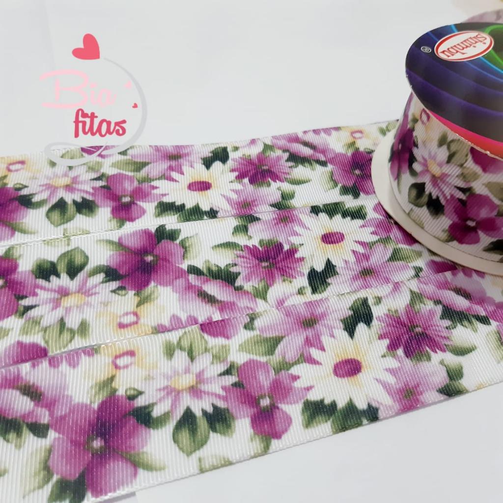 Fita de Gorgorão Sinimbú Floral 38 - 36